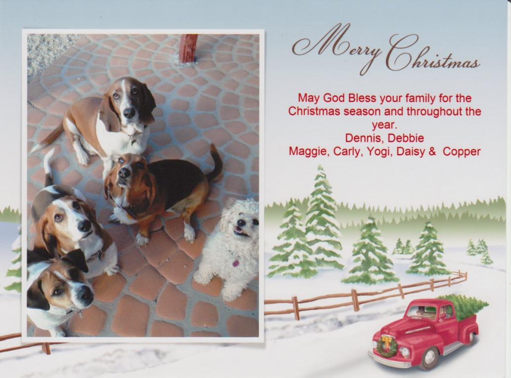 Join in with your Howliday Greetings and Howliday Pictures - Basset ...